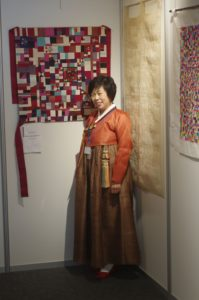 Korean quilts or Bojagis