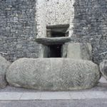 Newgrange passage tomb entrance