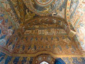 Voronet Monastery interior