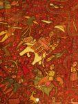 silk Kashmiri shawl c1850